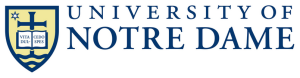 Logo University of Notre Dame